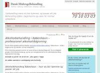Dansk Misbrugsbehandling Københavns webside