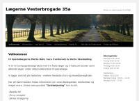 Lægeklinikken Mette Buhl & Sara Cvetkovskis webside