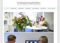 Tandreguleringsklinikkens webside