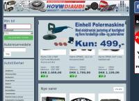 Bilspecialisten Hovwdiaudi a/Ss webside
