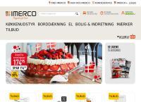 Imerco Aalborgs webside