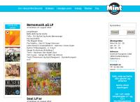 Mint Recordss webside