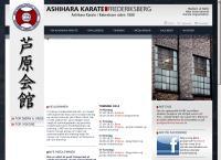 Ashihara Karate Frederiksbergs webside