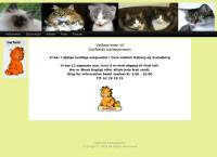Garfields Kattepensions webside