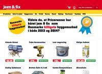 Jem & Fix Ikasts webside