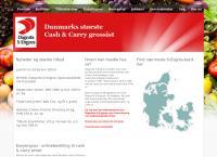 Dagrofa S-Engros a/Ss webside