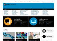 Strøbyhallens webside