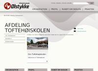 Toftehøjskolens webside