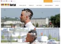 Frisør Hairlabs webside