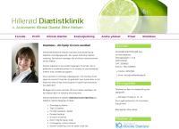 Hillerød Diætistklinik ApSs webside