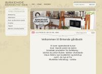 Birkende Gårdbutiks webside