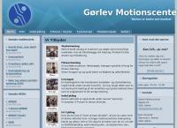 Gørlev Motionscenters webside