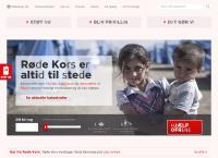 Røde Kors Hørsholms webside