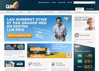 Q8 tankstation Frøslev Østs webside