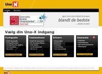 Uno-X Vejles webside
