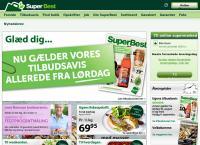Super Best Hjørring, Frederikshavnsvejs webside