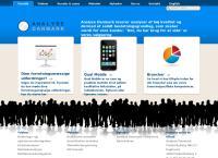 Analyse Danmark ApSs webside
