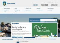 Brøndby Kommunes webside