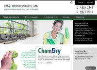 Dansk Rengøringsteknik ApSs webside