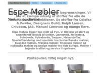 Espe Møbler ApSs webside