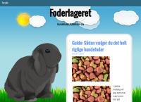 Foderlagerets webside