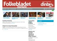 Folkebladet Djurslands webside