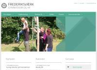 Frederiksværk Gymnasiums webside