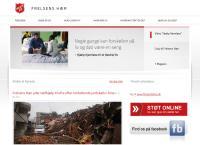 Frelsens Hærs Genbrugs webside