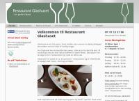 Glashusets webside