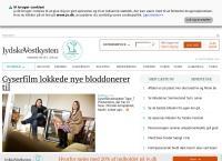 Jydskevestkystens webside