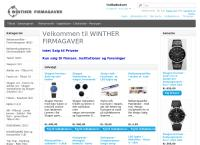 Winther Firmagaver - Reklamegavers webside
