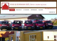 Kvist og Kristensen ApSs webside