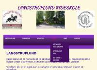 Langstruplund Ridecenters webside
