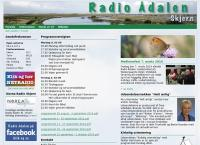 Radio Ådalens webside