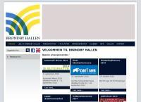 Brøndby-Hallens webside
