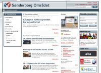 3F Sønderborg Områdets webside