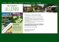 Allerød Planteskoles webside