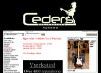 Ceders Musikkælders webside