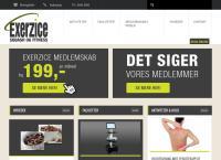 Exerzice Fitnesscenter a/Ss webside