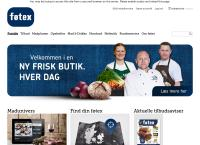 Føtexs webside