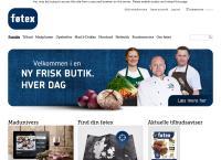 Føtex A/Ss webside