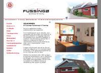 Fussingø Fysioterapi og Trænings webside
