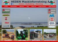 Stevning Maskinforretnings webside