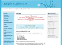 Lægerne Lærkevejs webside