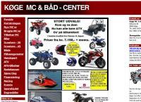Køge Mc & Båd Centers webside