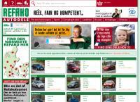 Refako autodeles webside