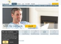 Skattecenter (Skive)s webside