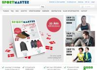Sportmasters webside
