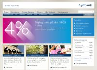 Sydbanks webside