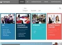 Tietgenskolen Tietgen Kompetencecenters webside